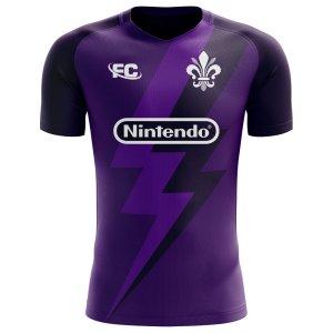 2018-2019 Fiorentina Fans Culture Home Concept Shirt - Little Boys