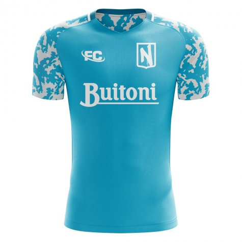 2018-2019 Napoli Fans Culture Home Concept Shirt - Womens