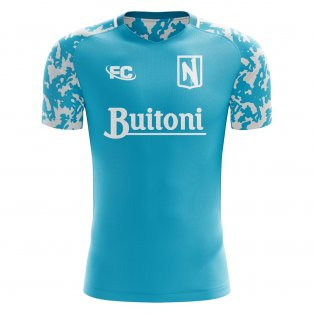 2018-2019 Napoli Fans Culture Home Concept Shirt (Kids)
