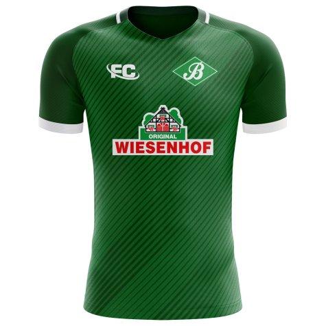 2018-2019 Werder Bremen Fans Culture Home Concept Shirt