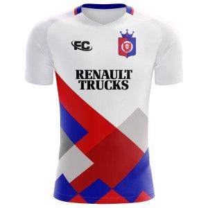 2018-2019 Lyon Fans Culture Home Concept Shirt