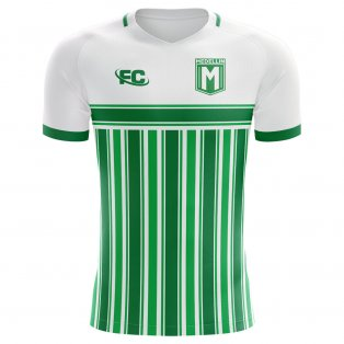 2018-2019 Atletico Nacional Fans Culture Home Concept Shirt