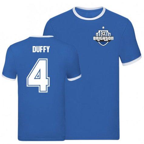 Shane Duffy Brighton Ringer Tee (Blue)