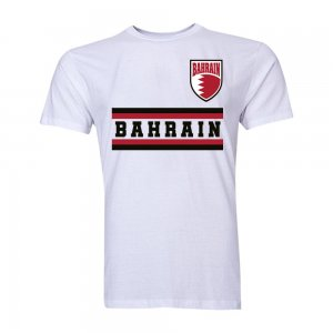 Bahrain Core Football Country T-Shirt (White)