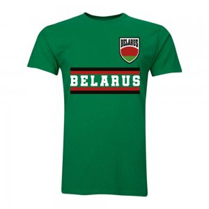 Belarus Core Football Country T-Shirt (Green)