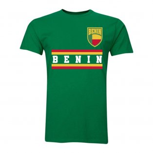 Benin Core Football Country T-Shirt (Green)