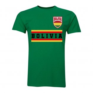 Bolivia Core Football Country T-Shirt (Green)
