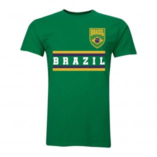 Brazil Core Football Country T-Shirt (Green)