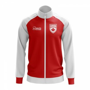 Canada Concept Football Track Jacket (Red)