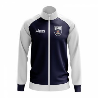 Cayman Islands Concept Football Track Jacket (Navy) - Kids