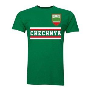 Chechnya Core Football Country T-Shirt (Green)