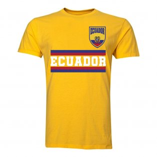 Ecuador Core Football Country T-Shirt (Yellow)