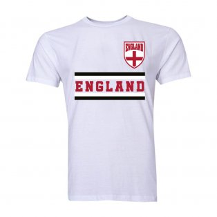 England Core Football Country T-Shirt (White)