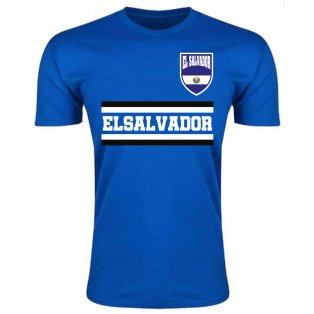El Salvador Core Football Country T-Shirt (Blue)