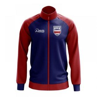 Costa Rica Concept Football Track Jacket (Blue)