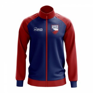 Czech Republic Concept Football Track Jacket (Blue)