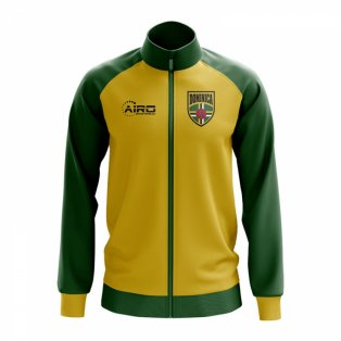 Dominica Concept Football Track Jacket (Yellow)