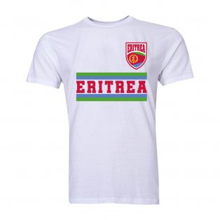 Eritrea Core Football Country T-Shirt (White)