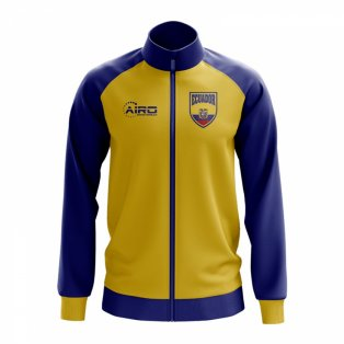 Ecuador Concept Football Track Jacket (Yellow) - Kids