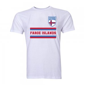 Faroe Islands Core Football Country T-Shirt (White)