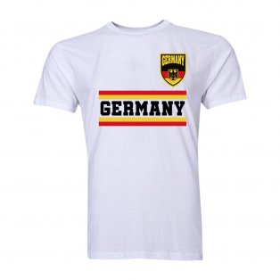 Germany Core Football Country T-Shirt (White)