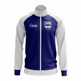 El Salvador Concept Football Track Jacket (Blue) - Kids