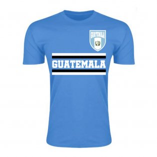 Guatemala Core Football Country T-Shirt (Sky)