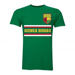 Guinea Bissau Core Football Country T-Shirt (Green)