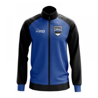 Estonia Concept Football Track Jacket (Blue) - Kids
