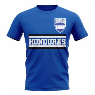 Honduras Core Football Country T-Shirt (Blue)