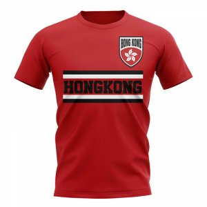 Hong Kong Core Football Country T-Shirt (Red)