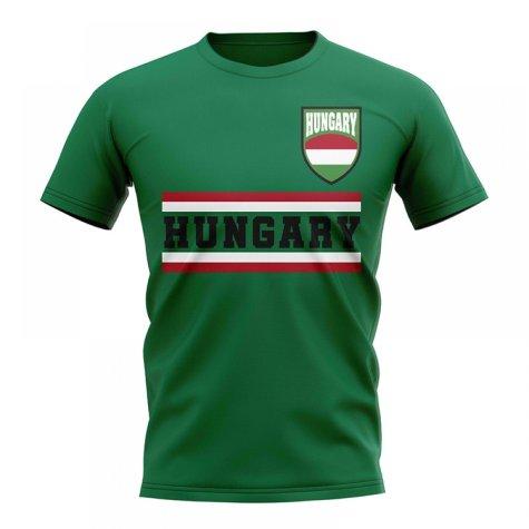 Hungary Core Football Country T-Shirt (Green)
