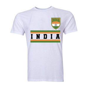 India Core Football Country T-Shirt (White)