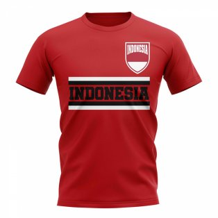 Indonesia Core Football Country T-Shirt (Red)