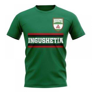 Ingushetia Core Football Country T-Shirt (Green)
