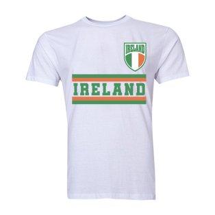 Ireland Core Football Country T-Shirt (White)