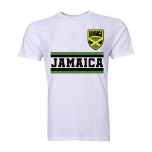 Jamaica Core Football Country T-Shirt (White)