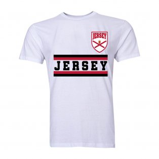 Jersey Core Football Country T-Shirt (White)