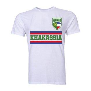 Khakassia Core Football Country T-Shirt (White)