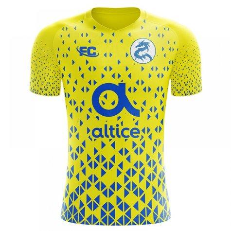 2018-2019 Porto Fans Culture Away Concept Shirt - Kids