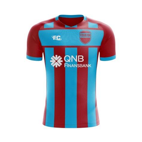 2018-2019 Trabzonspor Fans Culture Home Concept Shirt