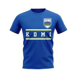 Komi Core Football Country T-Shirt (Blue)