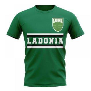 Ladonia Core Football Country T-Shirt (Green)