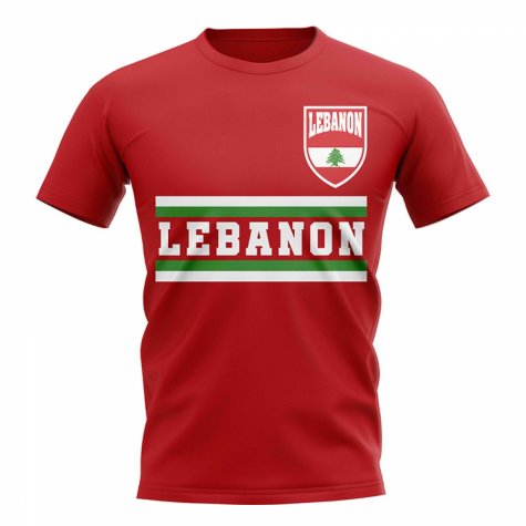 Lebanon Core Football Country T-Shirt (Red)