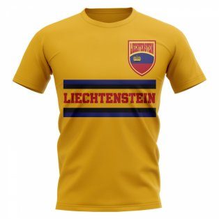 Liechtenstein Core Football Country T-Shirt (Yellow)