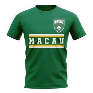 Macau Core Football Country T-Shirt (Green)