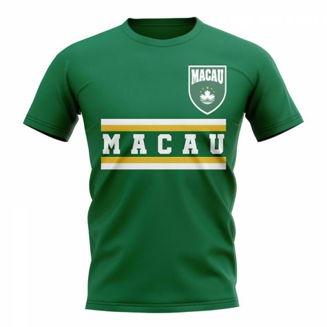 Macau Core Football Country T-Shirt (Green)