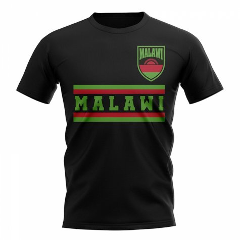 Malawi Core Football Country T-Shirt (Red)