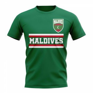 Maldives Core Football Country T-Shirt (Green)
