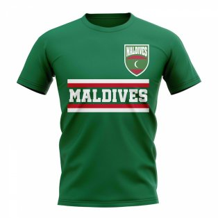 Maldives Core Football Country T-Shirt (Green)